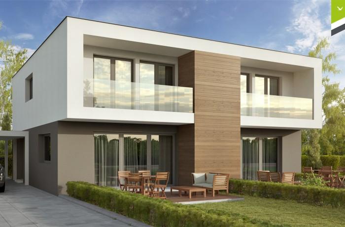 Doppelhaus 103 m²