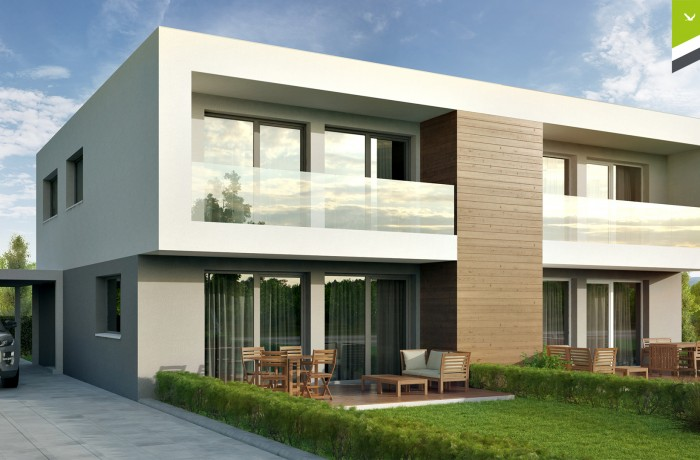 Doppelhaus 123 m²