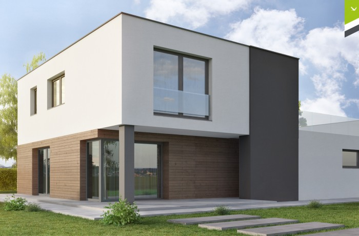 Flachdach 143 m²