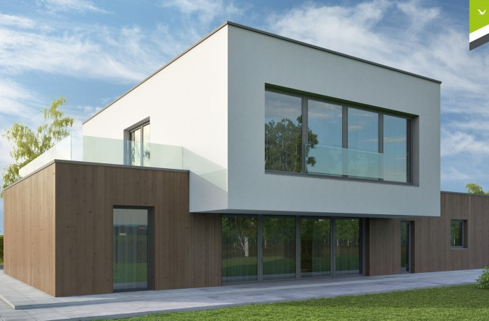 Flachdach 150 m²